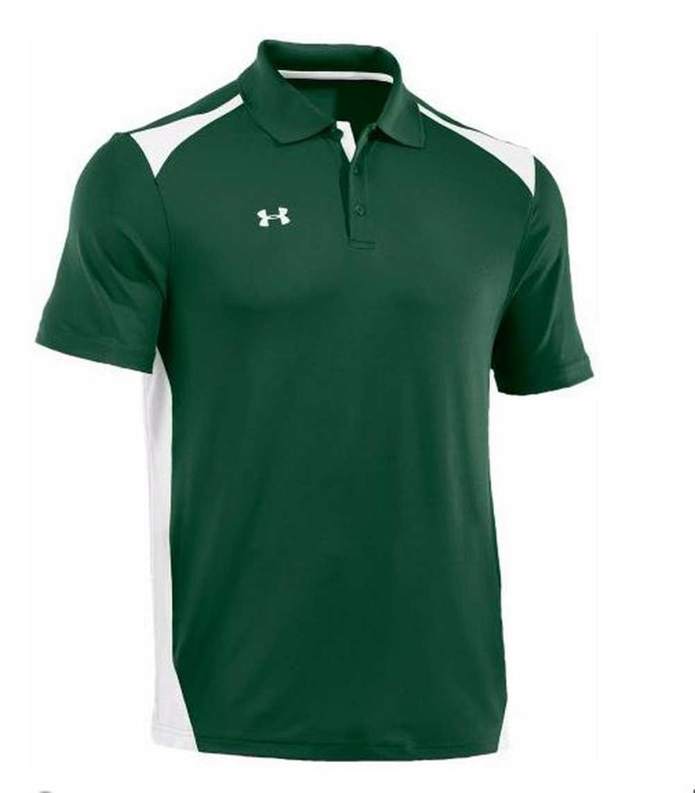 Under armour men 39 s team colorblock polo golf shirt for Polo color block shirt