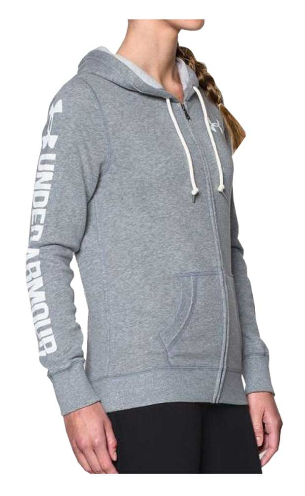 first look factory outlet run shoes Details about Under Armour Women's Favorite Fleece Full Zip Hoodie 1260115