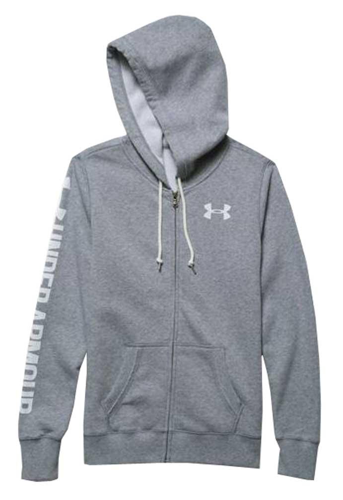 7ee5b8805 Under Armour Women's Favorite Fleece Full Zip Hoodie 1260115 | eBay