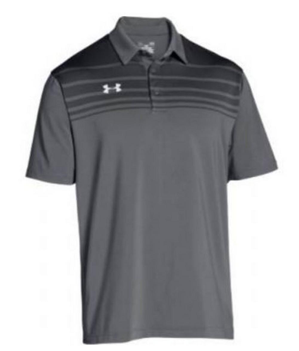 2c067d18 Under Armour Victor Polo Shirt Men's UA Short Sleeve Golf Shirts ...
