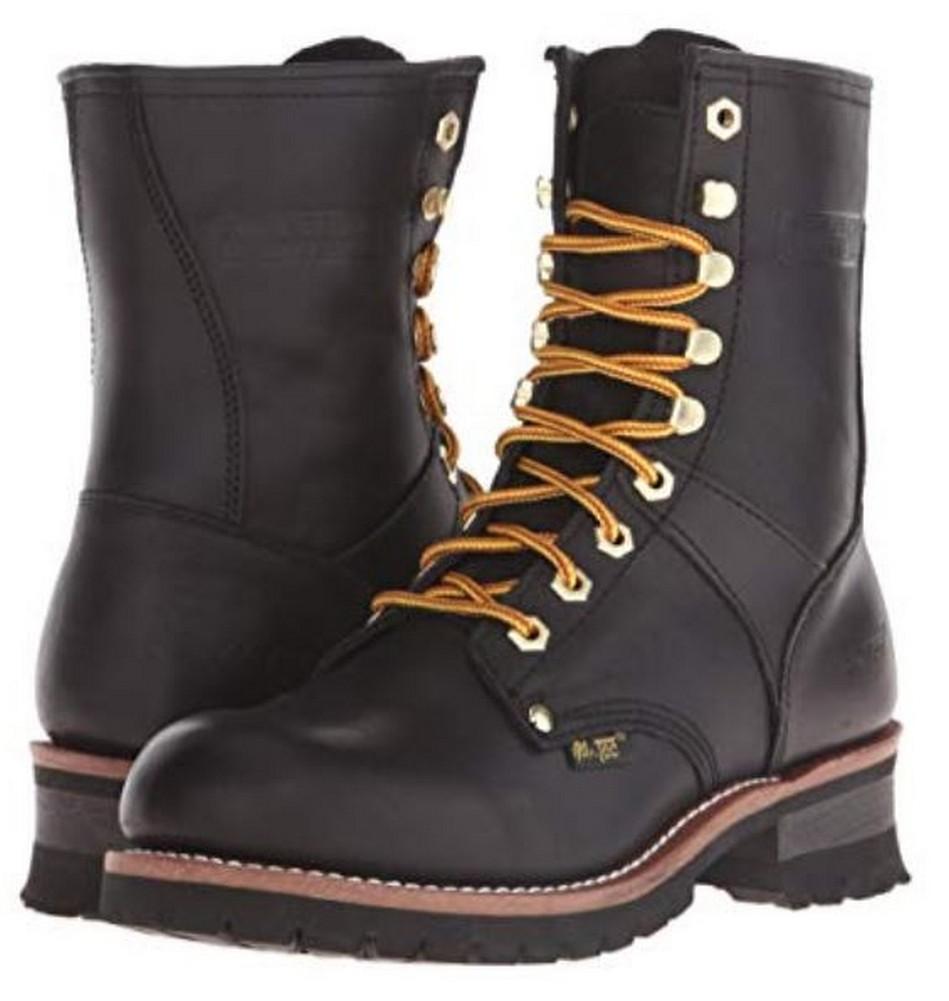 "Soft Toe 1439 Ad Tec Men/'s Logger 9/"" Work Boot"