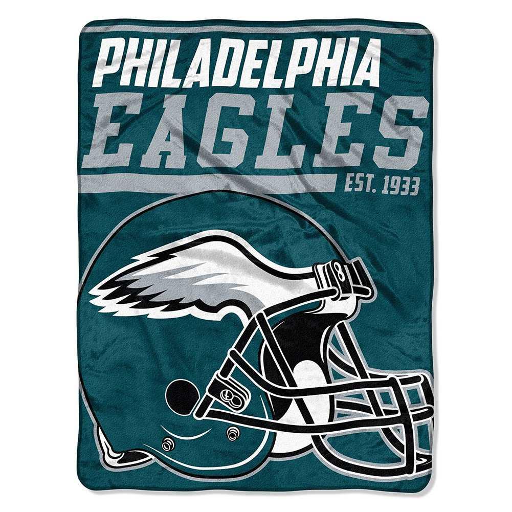 961c719478d The Northwest NFL Philadelphia Eagles 40-Yard Dash Plush Throw 46