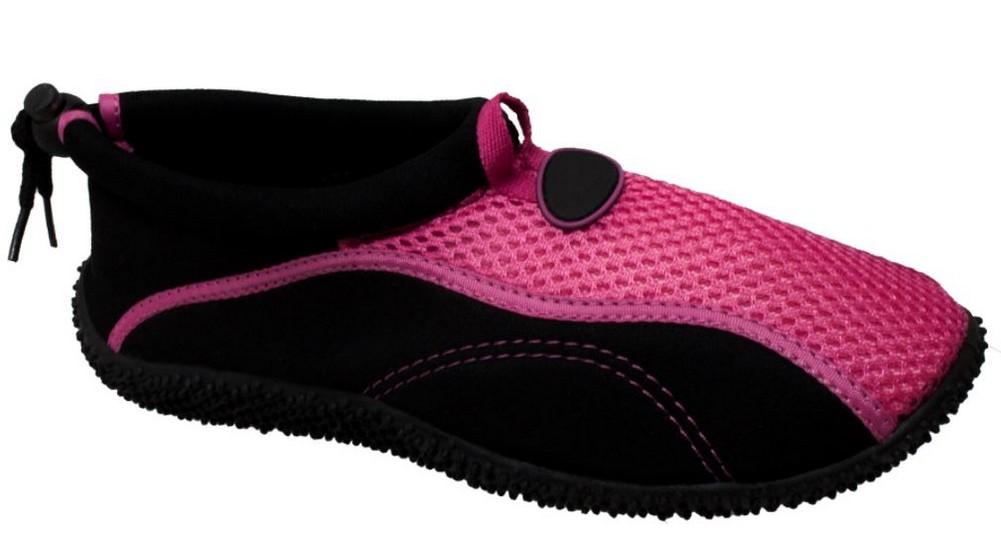 AdTec Women/'s Rocsoc Boating Water//Land Shoe Aquasock Mesh Toggle Gray//Pink 8699