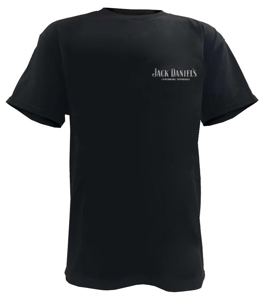 jack daniels men 39 s whiskey bottle short sleeve t shirt black 33261426jd 89 ebay. Black Bedroom Furniture Sets. Home Design Ideas