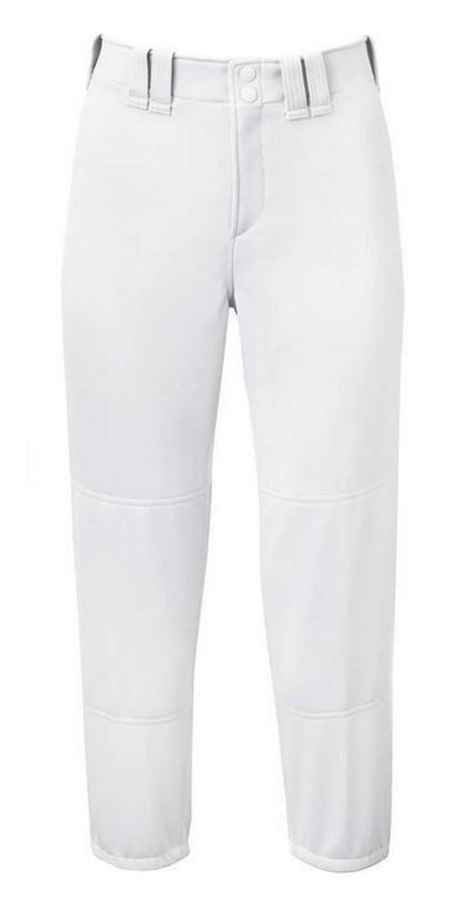 Stock photo. Stock photo; Mizuno Select Women's Belted Low Rise Fastpitch  Softball Pant.