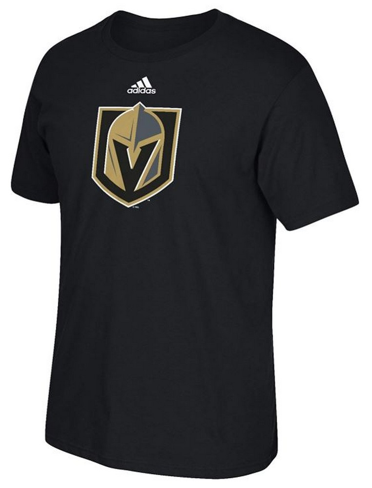 online retailer d7637 f0162 Adidas Men s Las Vegas Golden Knights Hockey League Tee Shirt NHL Go-To  7LVSPRD