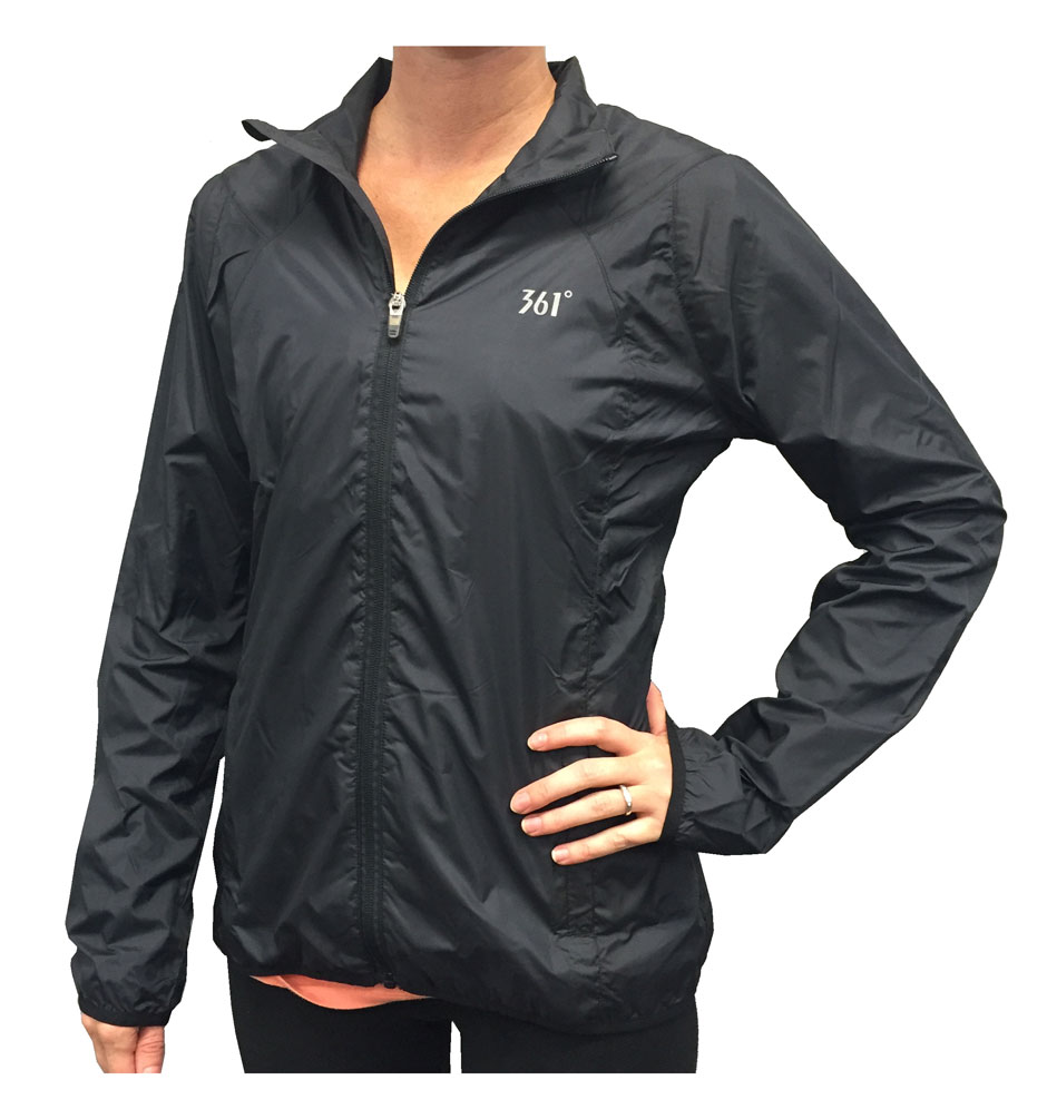 361 Degrees Women's Full Zip Windbreaker Jacket, 2 Color Choices ...