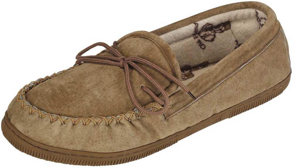 to Extra Wide Old Friend Footwear Men/'s Sheepskin Loafer Moccasin Slippers Reg