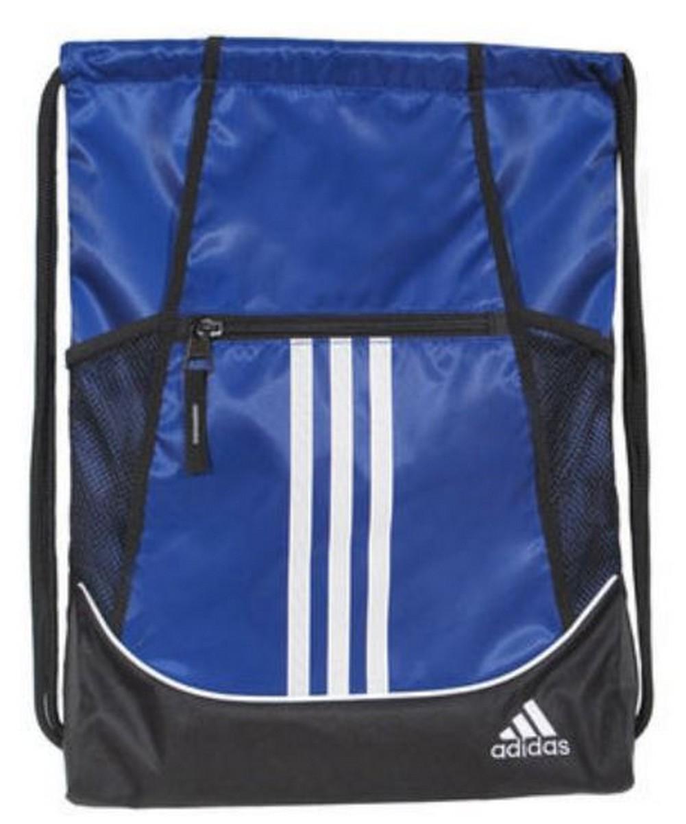 Adidas Alliance II Sackpack Sling Backpack School College Sport Alliance b9fa5436ed9f8
