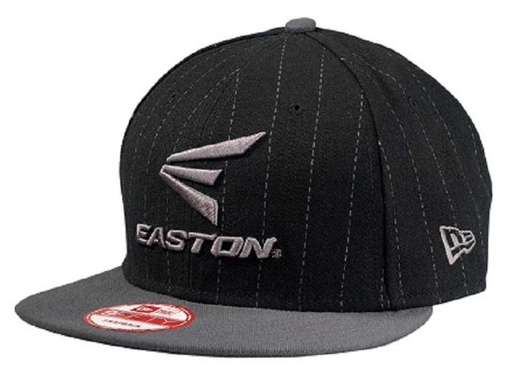 015cf8e4d34 Buy Easton M10 Pinstripe 9fifty Black   Grey Hat Adult One Size Fits ...