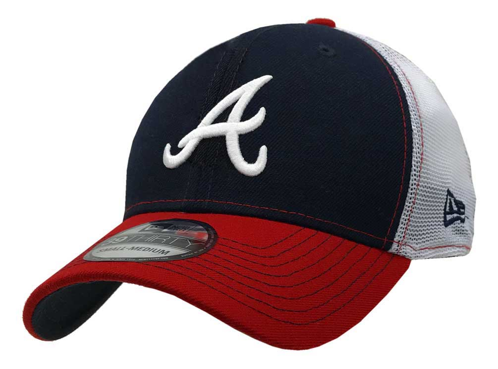 New Era 2019 3930 MLB Atlanta Braves Practice Piece Hat Cap 39Thirty ... 2c0564b68d1