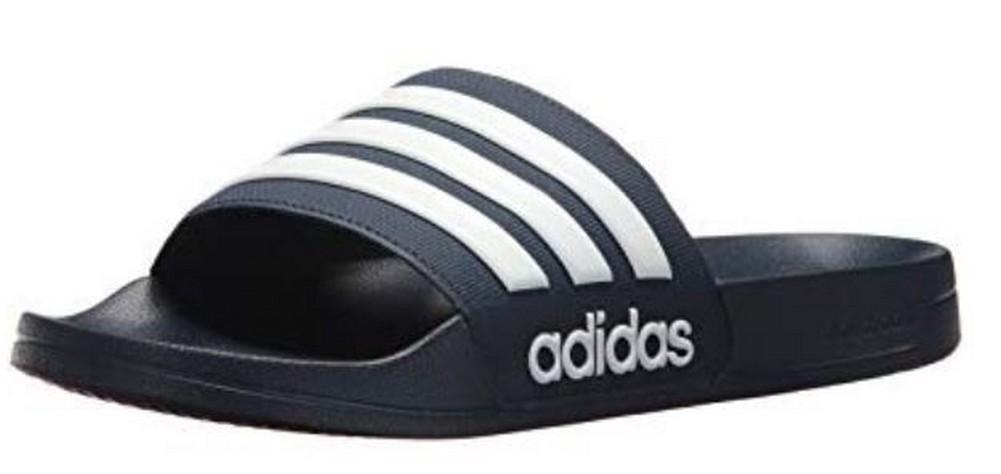 b38bb4c4936677 Adidas Mens Adilette Shower Locker Slide Shoe Water Sandal Color Choice AQ17