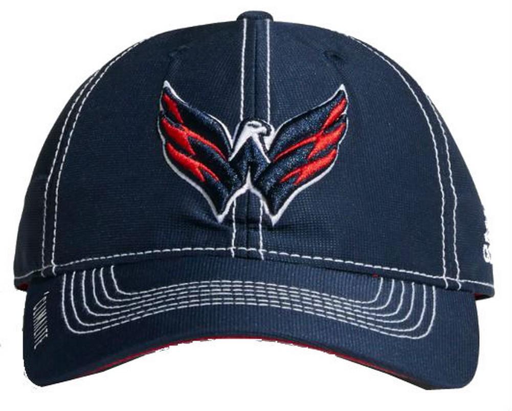 super popular 05819 d168a Adidas NHL Hockey Washington Capitals Cap Hat Slouch Dobby ADJ Climalite  CY1142