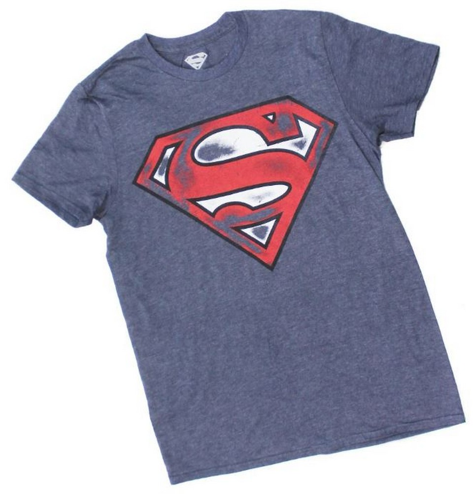 Superman Army Camo Shield DC Comics Logo Hero Tee Adult Men/'s Graphic T-Shirt