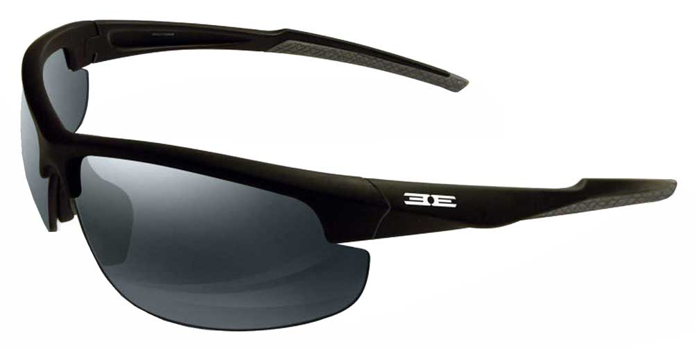 af5a8db8b1 Epoch 7 High Definition Sport Sunglasses - Black Frame Smoke Lens
