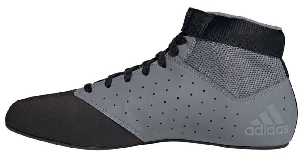 Details about Adidas Men's Mat Hog 2.0 Wrestling Mat Shoe Ankle Strap GrayBlack