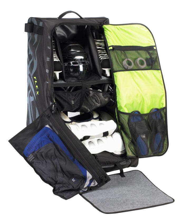 8f7921ae654 Grit Inc. Flex Hockey Tower Medium Equipment Bag 33-Inch