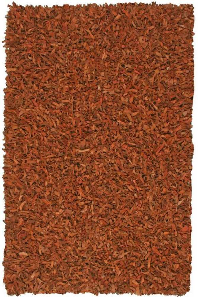 Pelle Collection Leather Shag Rug 5 X 8 11 Color