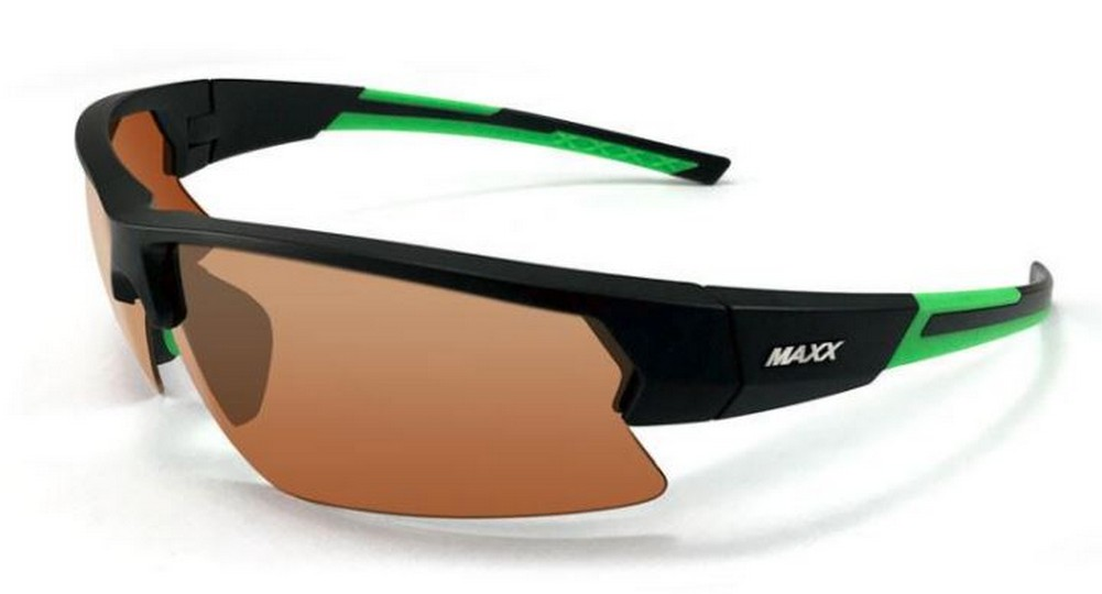 f287b1c87d4 Maxx HD MAXX4 HD Polarized Sunglasses Sun Protection MAXX4-BKGN  (Black Green)