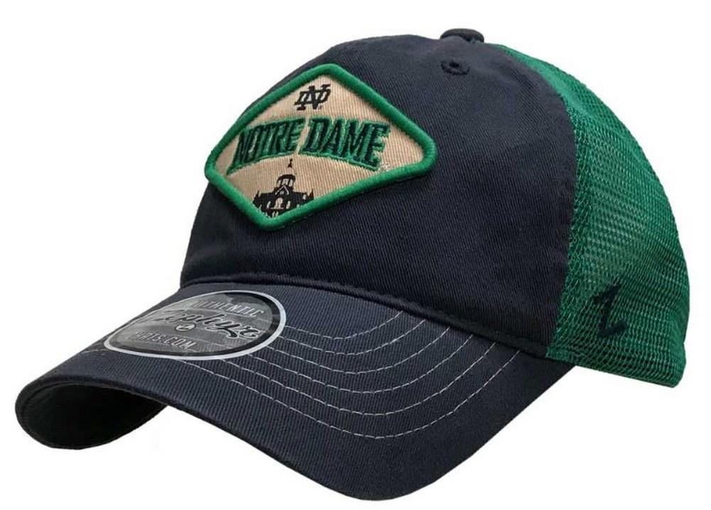 get new designer fashion 100% high quality Zephyr Hats University of Notre Dame Roadside Hat Ball Cap NCAA ...