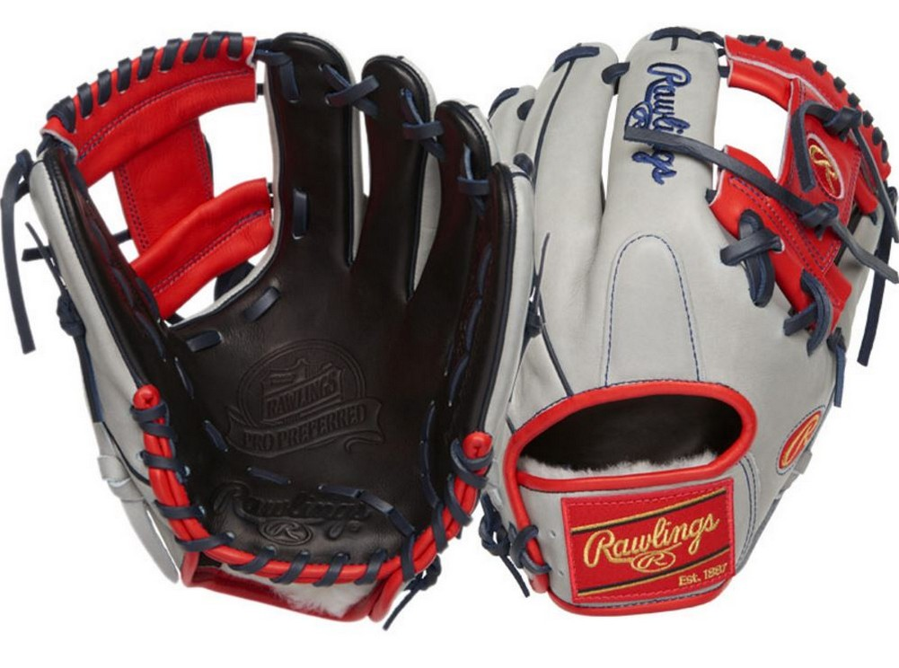 Front Bumper Black Rawlings Football : Rawlings pro preferred adult quot infield baseball glove