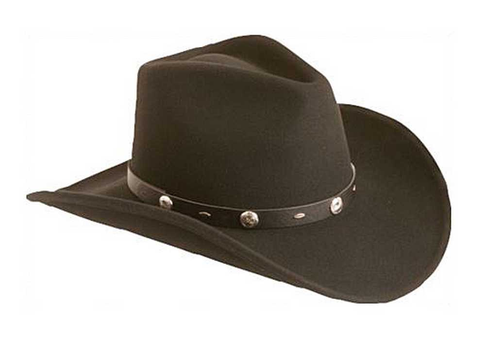 "Silverado ""Rattler"" Men's Crushable Wool Western Cowboy ..."
