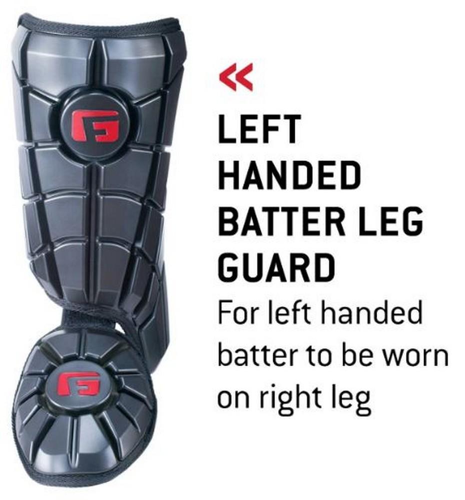 G-Form adulte Batteur Jambe Garde Baseball Protection SmartFlex Pads Couleur//Tailles