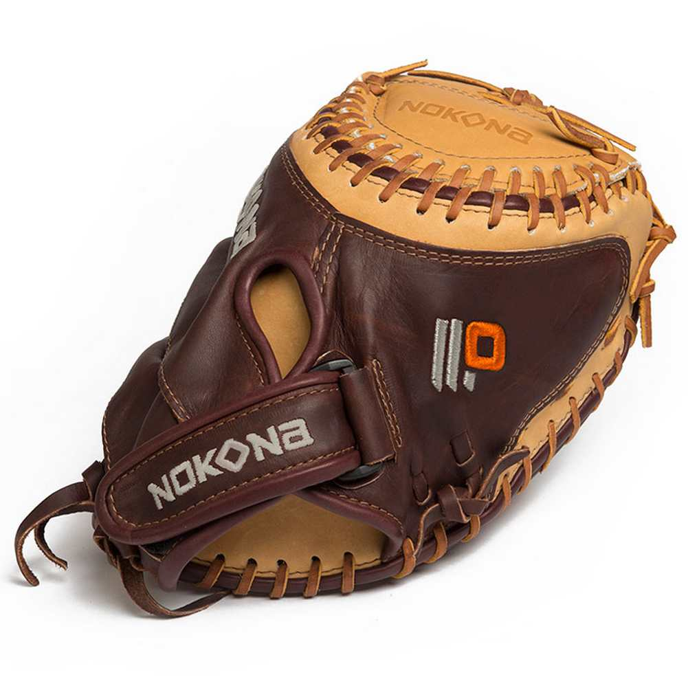 "Nokona Baseball Alpha Select Youth 32.5"" Catchers Mitt ..."