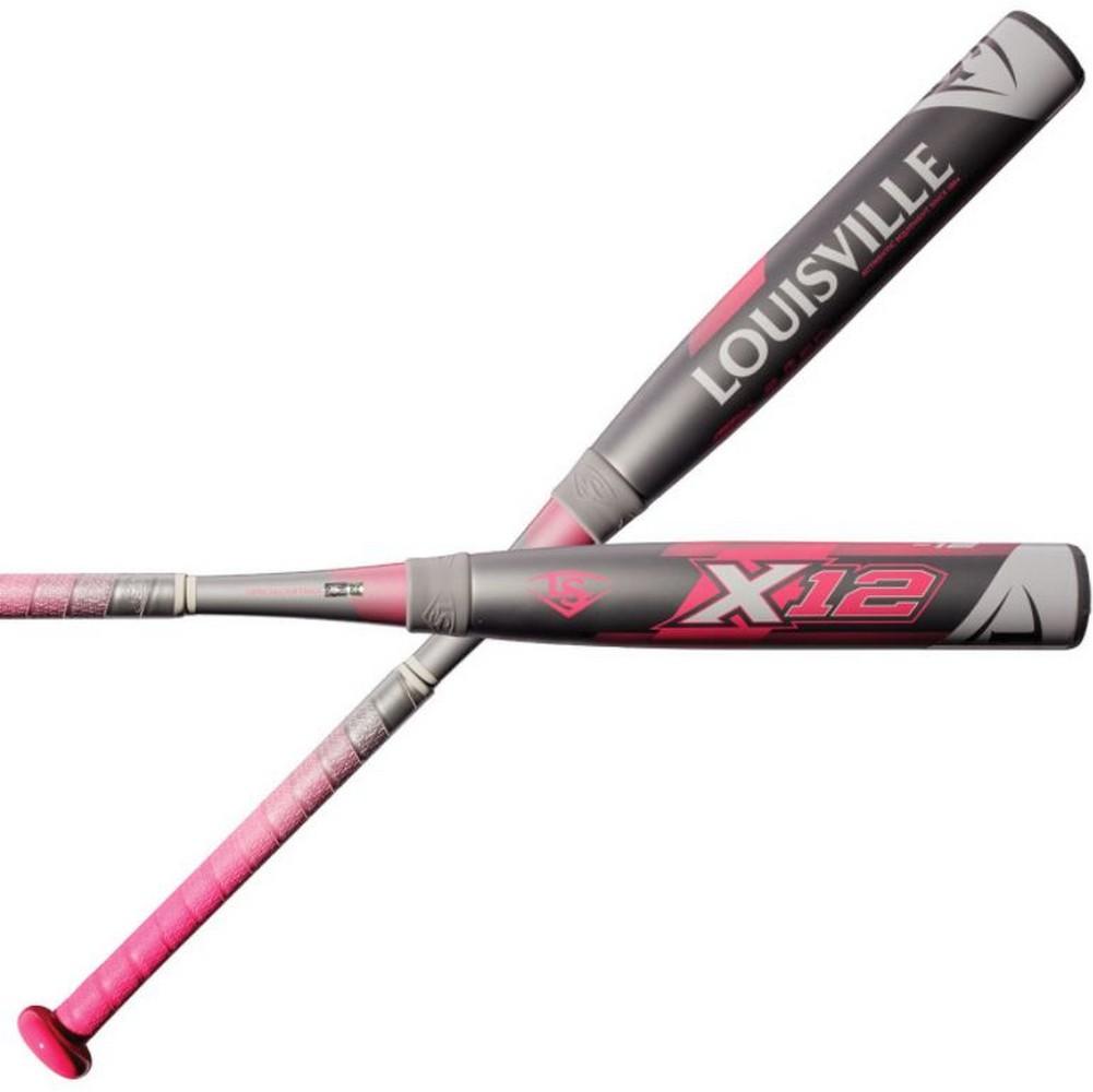 Louisville Slugger Women s X12 (-12) Fastpitch Softball Bat Adult  WTLFPX218A12 973599026
