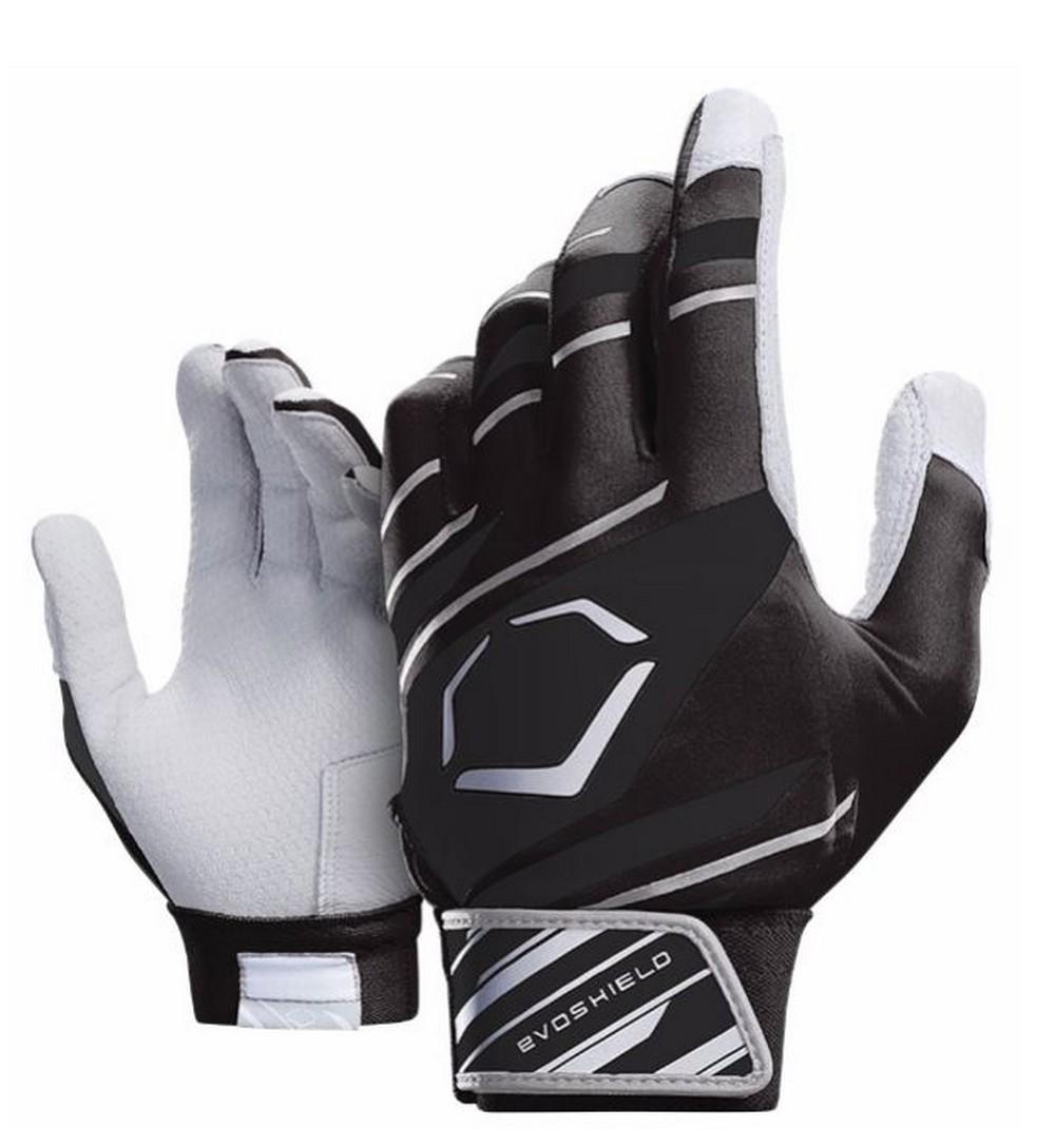 Black batting gloves - Picture 3 Of 7