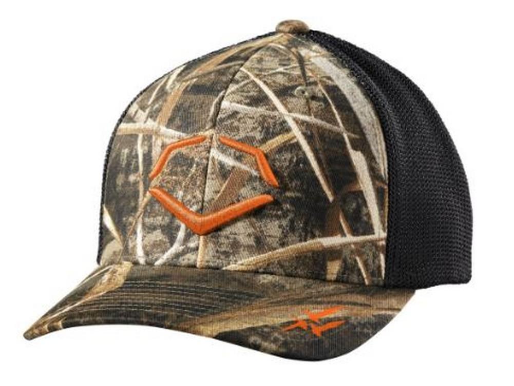 c48e04134e635 ... free shipping evo shield outdoor hunting flex fit hat cap mesh back  baseball camo wtv8730rc 53a05