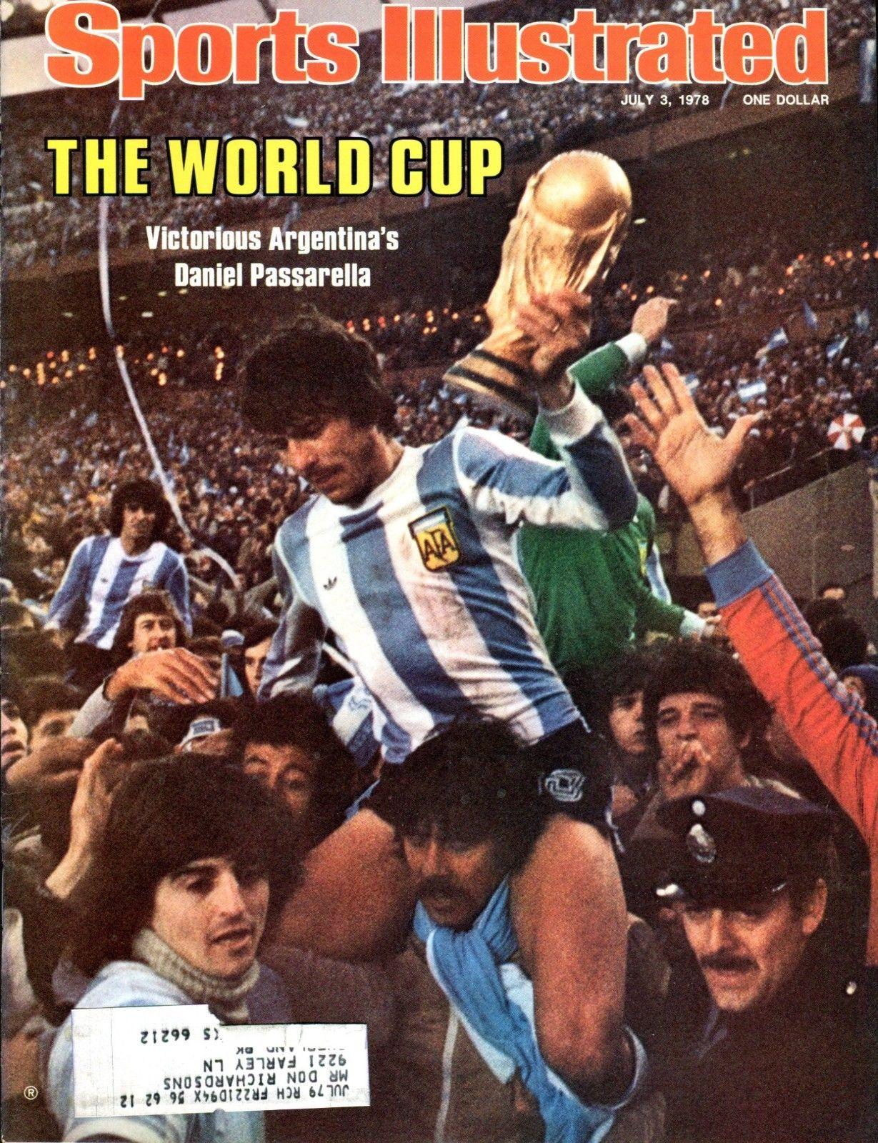 SI Sports Illustrated July 3 1978 Daniel Passarella Soccer