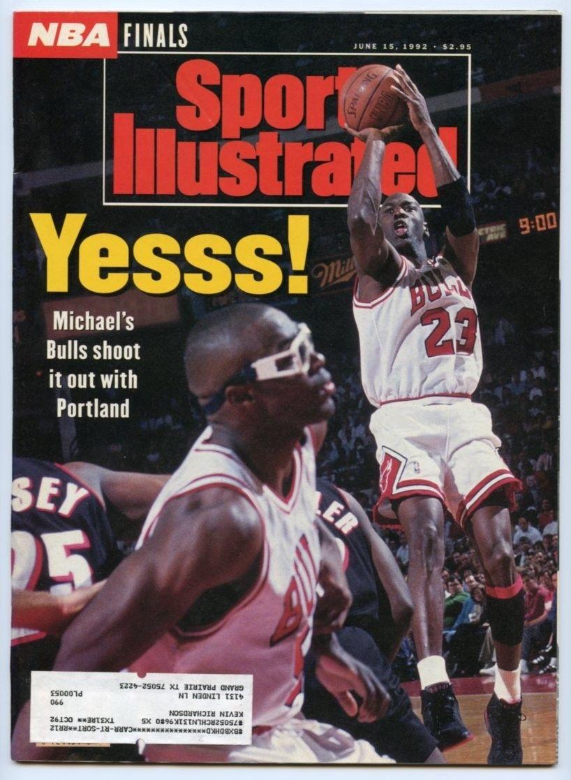 26ab6f4fdb SI: Sports Illustrated June 15, 1992 Michael Jordan, Basketball ...