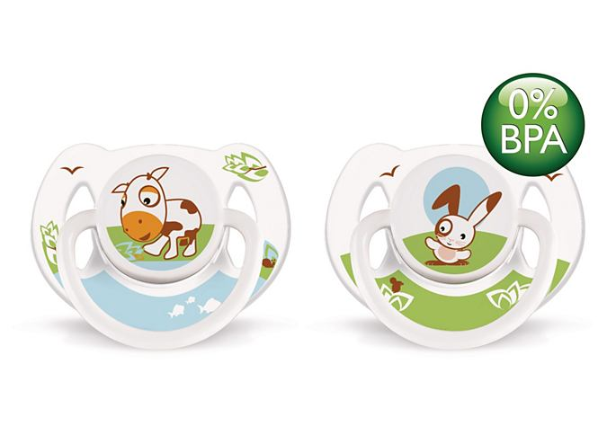 SCF182//33 Philips AVENT Soother Animal Truman 0-6m