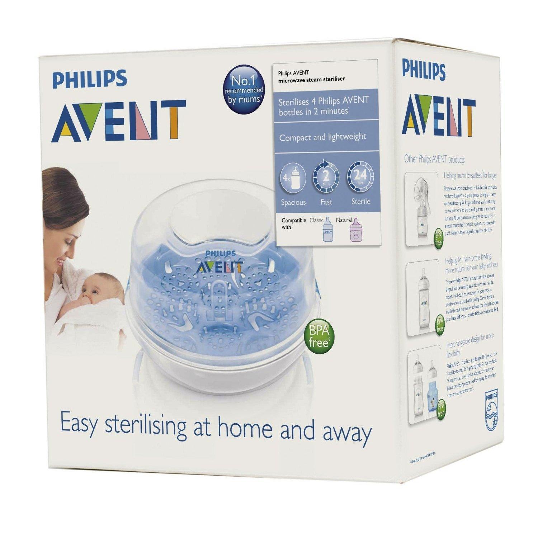 Philips Avent Microwave Steam Steriliser Scf28102 Ebay