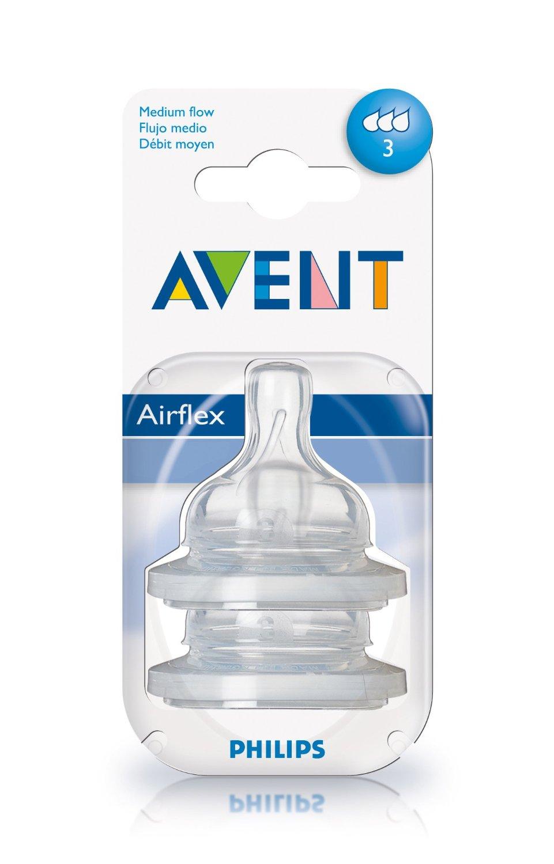 Avent Classic Teats Medium Flow 3m+