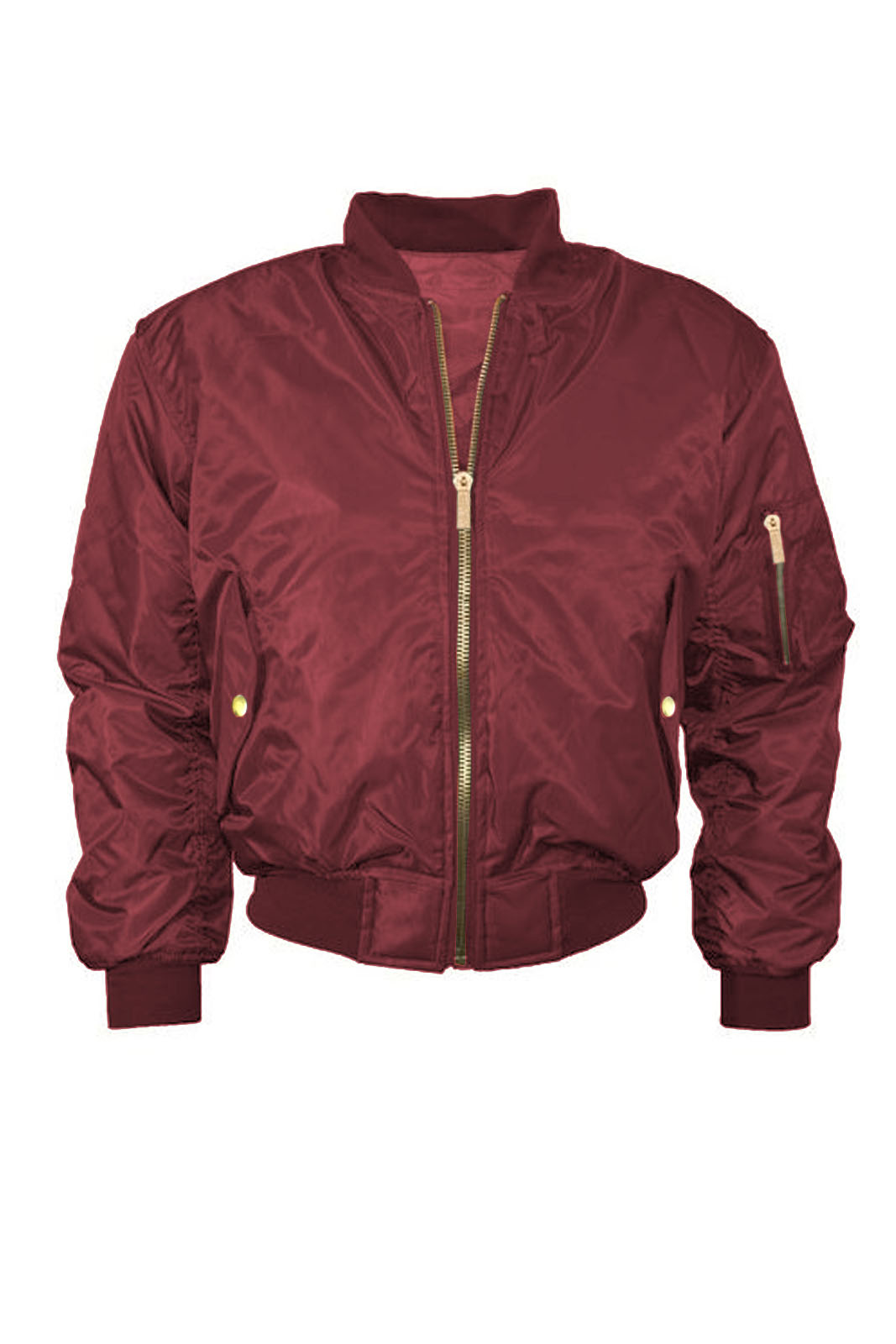 Womens Red Bomber Jacket Jacket To