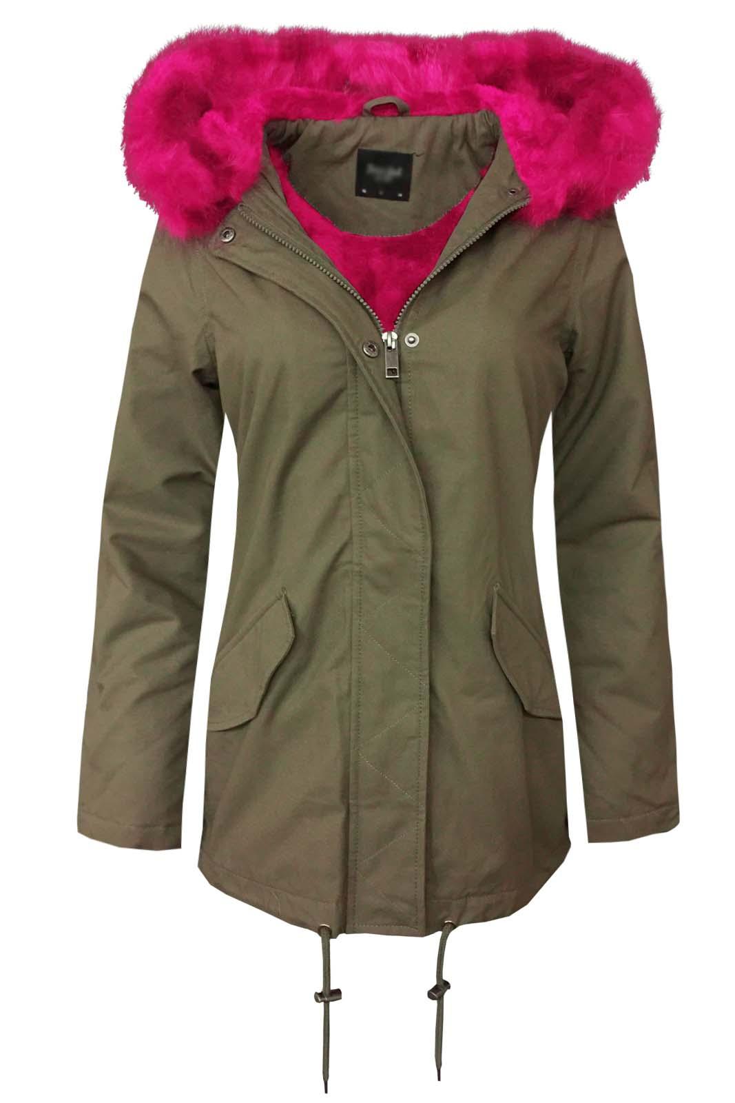 Faux Fur Warm Winter Coat