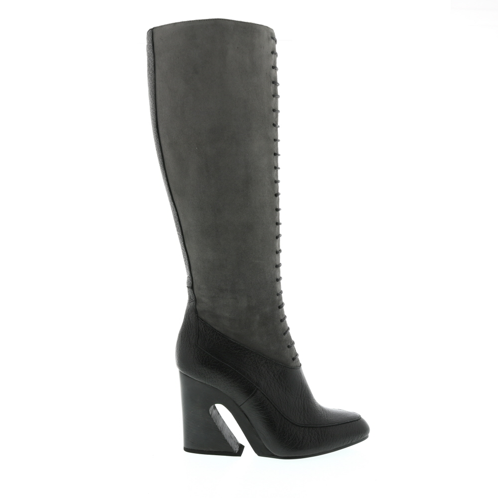 Giorgio Fabiani Suede And Leather Wedge Heel Boot