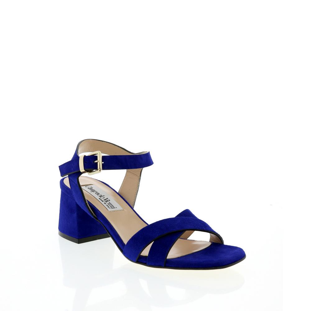 Giampaolo Viozzi Cross Heel Strap Low Heel Cross Sandal 41102e