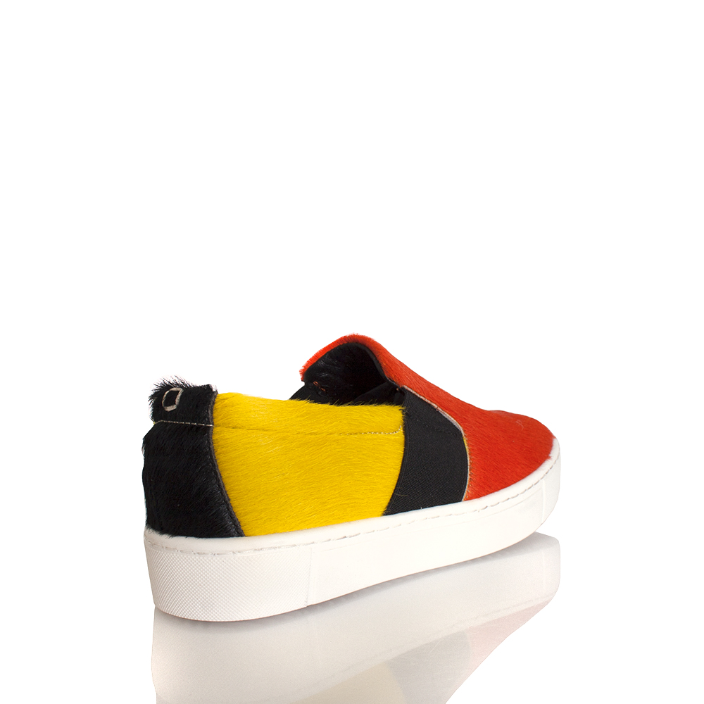 Collection Hair Privee Multi Farbeed Pony Hair Collection Slip On Sneaker Bottom e03e54