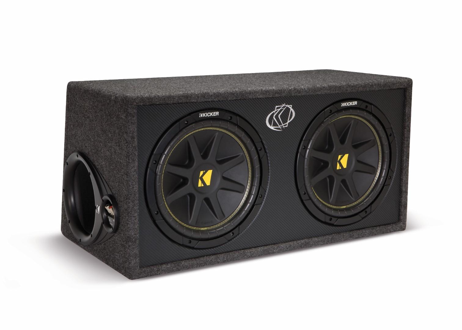 Awesome Kicker 10Dc122 Dual 12 Inch Enclosued Car Audio Subwoofer Box Ebay Wiring Cloud Pendufoxcilixyz