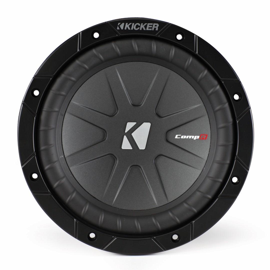 Kicker CompR 8 Inch 2 Ohm Subwoofer 40CWR82
