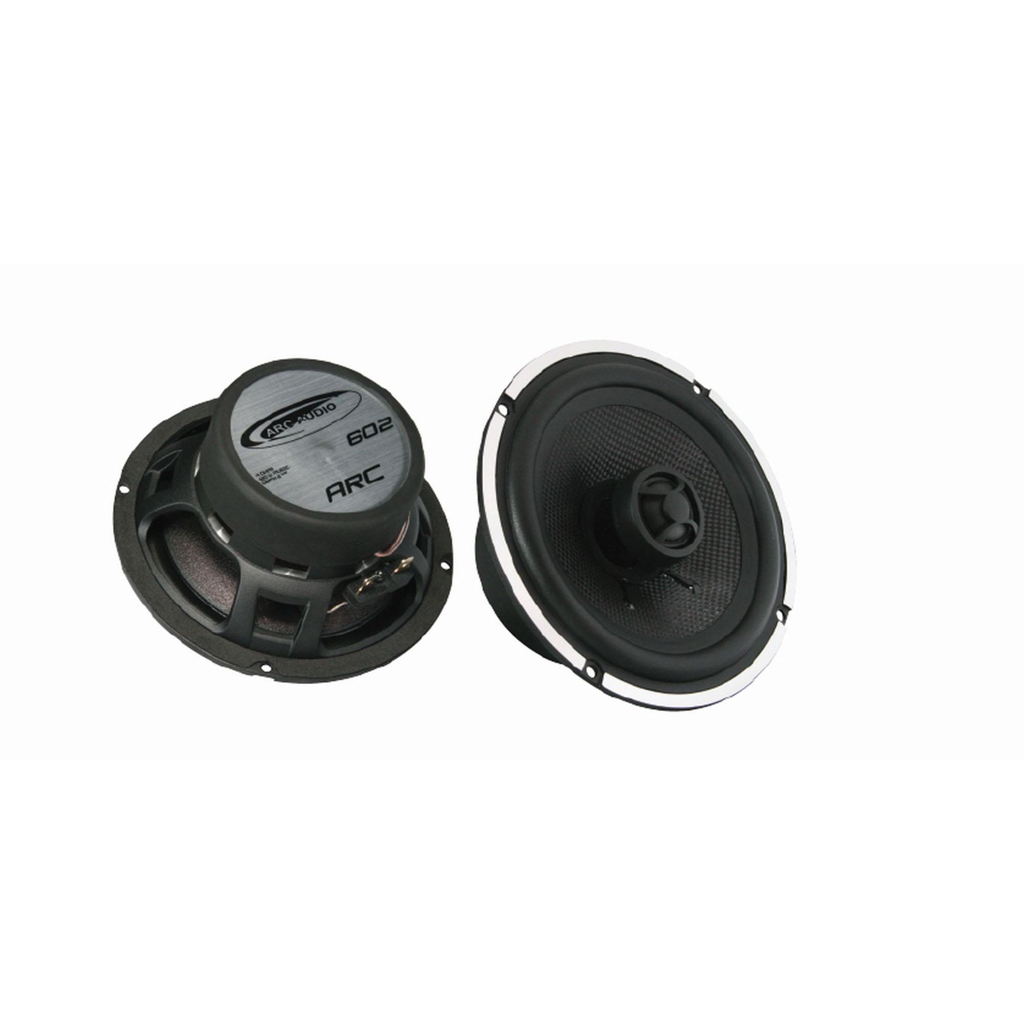 "Arc Audio Moto 602 6.5/"" Motorcycle Coaxial Speakers"