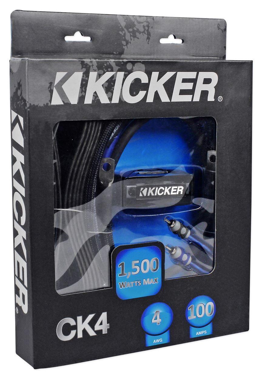kicker ck4 amp kit creative audio rh creativeaudio net kicker dual amp wiring kit Car Amplifier Wiring Diagram