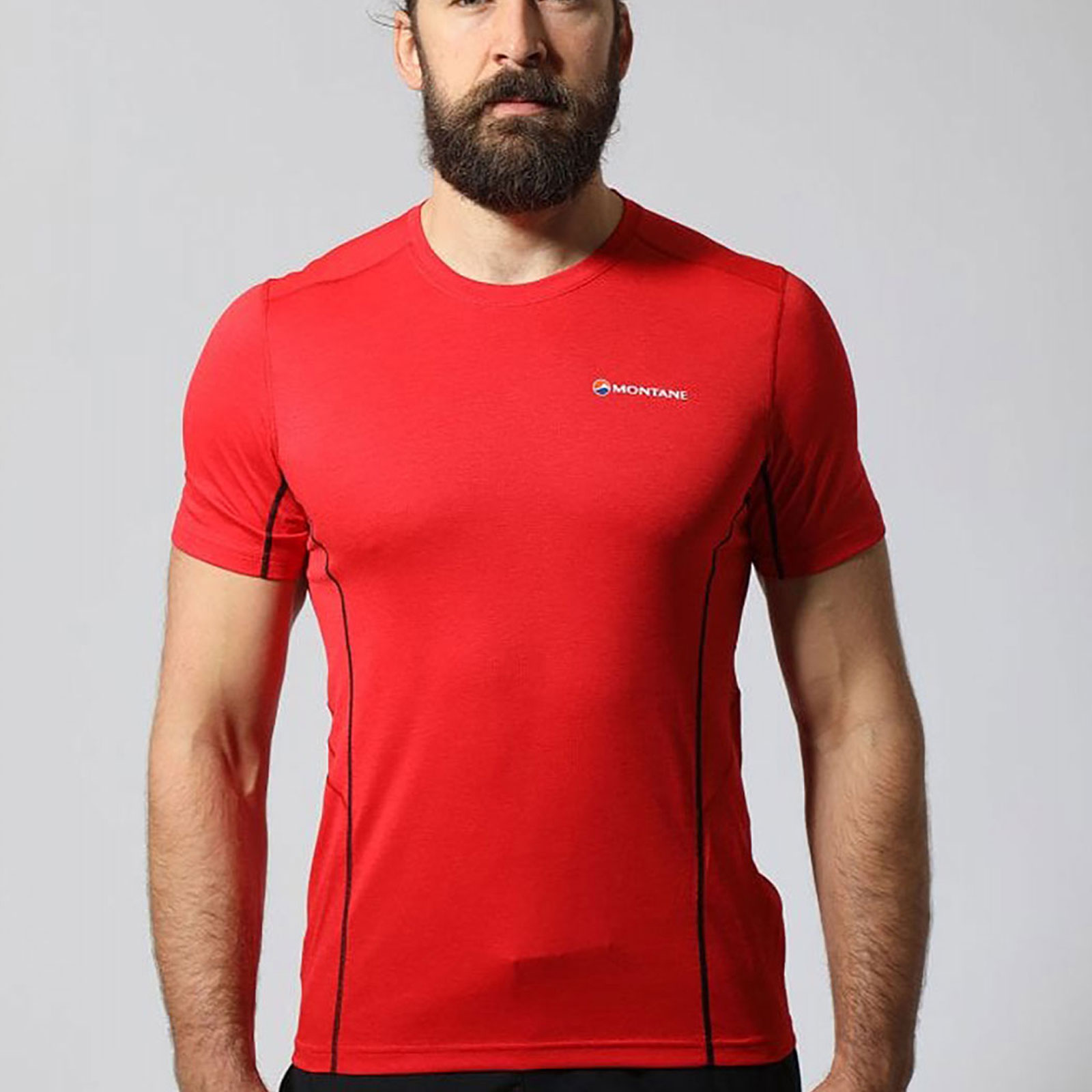 Red Sports Outdoors Breathable Lightweight Montane Mens Dart T Shirt Tee Top