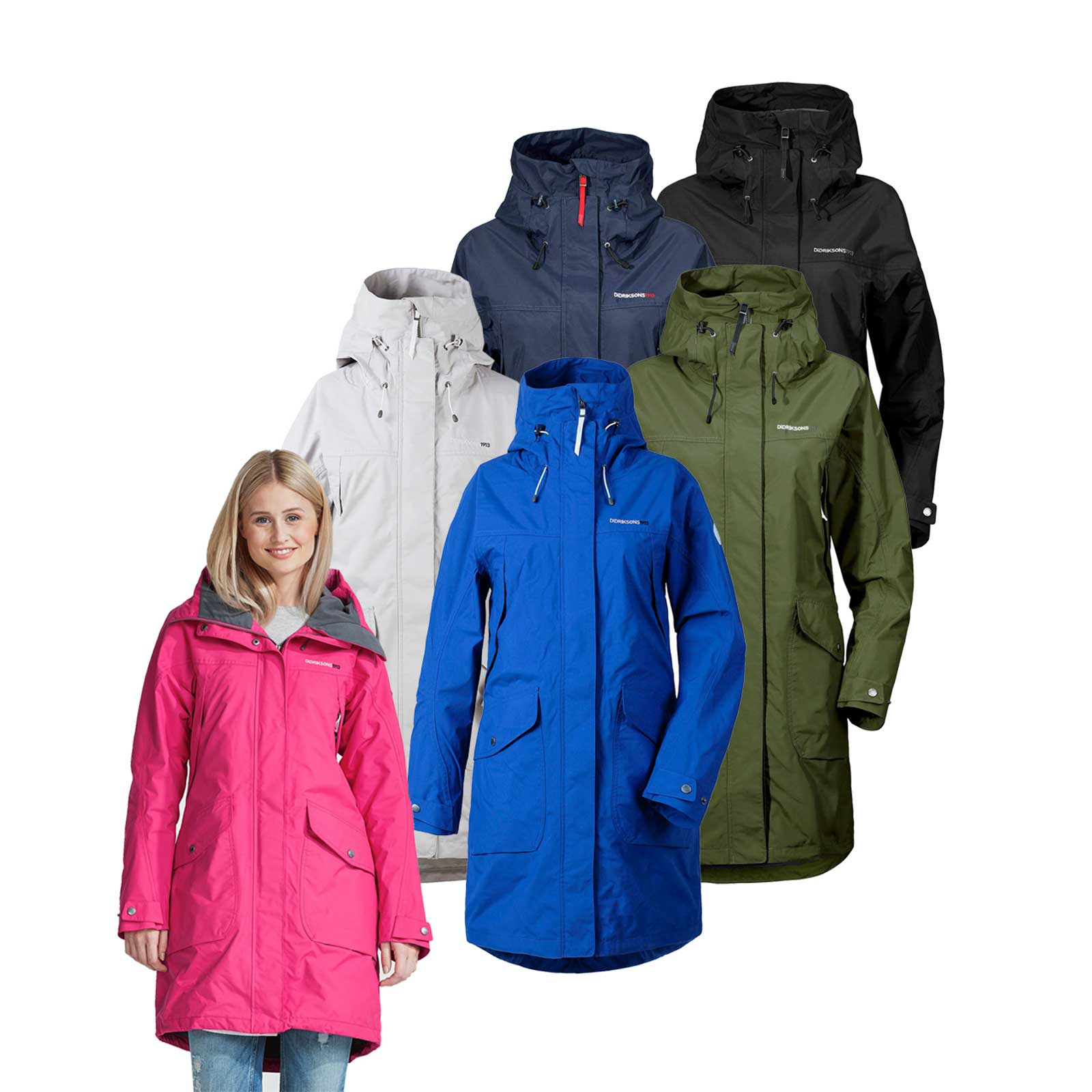 11cd9c0a Image is loading Didriksons-Ladies-Thelma-Parka-RRP-190