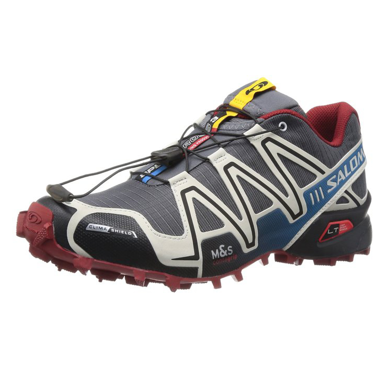 100% AUTHENTIC Salomon Speedcross 3 CS Mens Shoes DARK