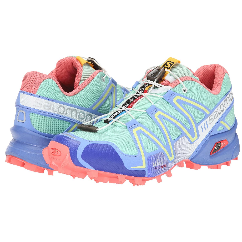 100% Authentic Salomon Speedcross 3 Womens Running Shoes