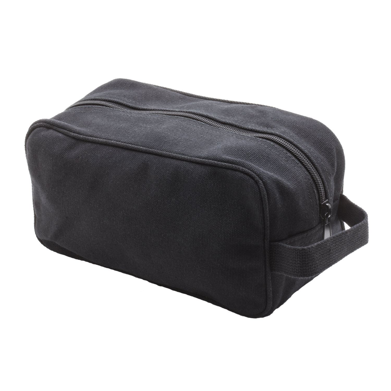 TEAM-INSTINCT-Canvas-Shower-Kit-Travel-Toiletry-Bag-Case thumbnail 3